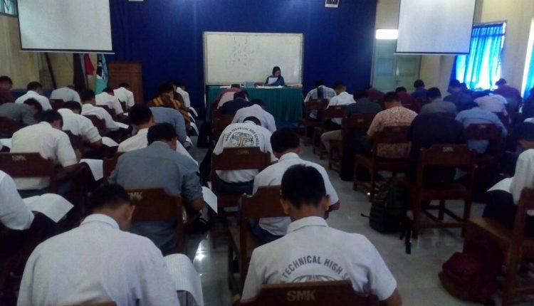 Tes Rekrutmen PT.Djarum di SMK Warga Surakarta