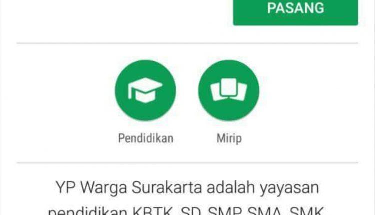 SMK Warga dalam Aplikasi Playstore